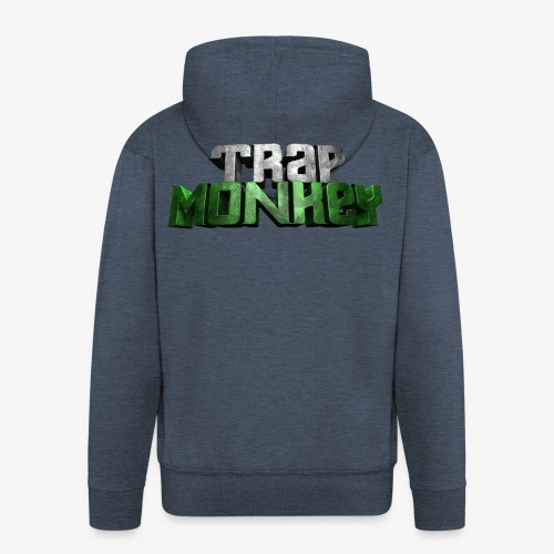 Trap Monkey 2 - Veste à capuche Premium Homme