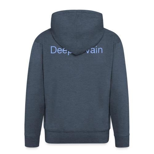Deep&Vain Text Logo - Mannenjack Premium met capuchon