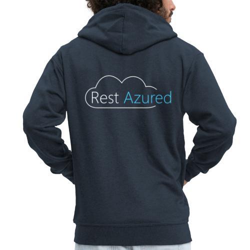 Rest Azured # 2 - Men's Premium Hooded Jacket