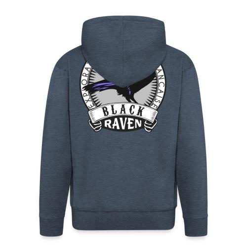 Logo Blackraven Transpare - Veste à capuche Premium Homme