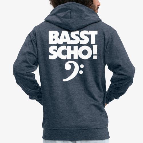 BASST SCHO! Bass Design für Bassisten - Männer Premium Kapuzenjacke
