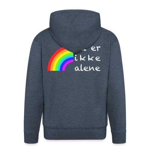 Skam - You're not alone - Rozpinana bluza męska z kapturem Premium