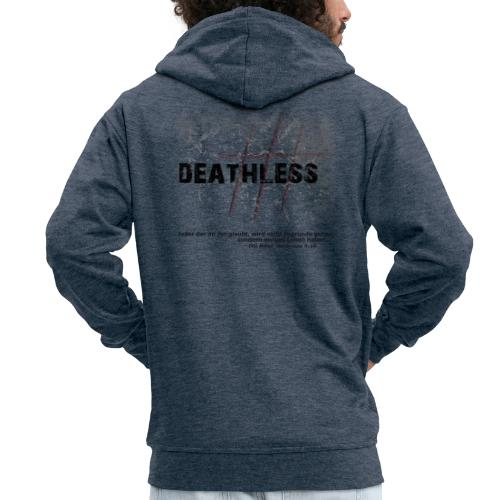Deathless 3 Kreuze - Männer Premium Kapuzenjacke