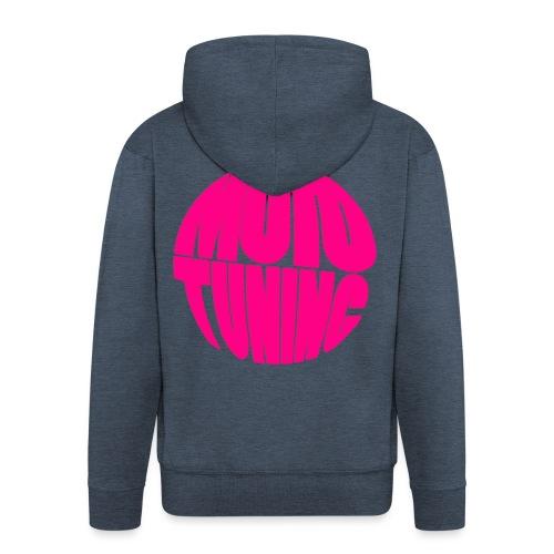 MotoTuning Pink - Men's Premium Hooded Jacket