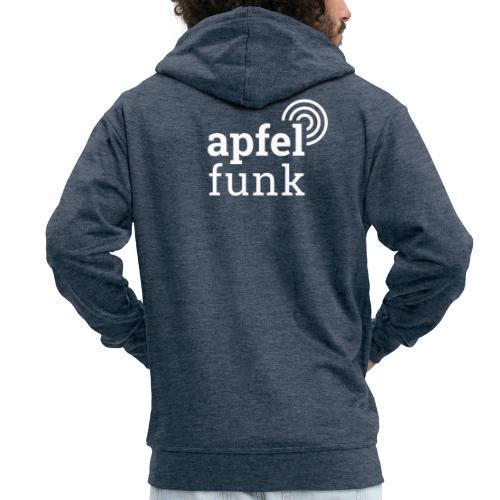 Apfelfunk Dark Edition - Männer Premium Kapuzenjacke