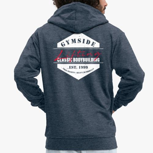 CLASSIC BODYBUILDING - Männer Premium Kapuzenjacke