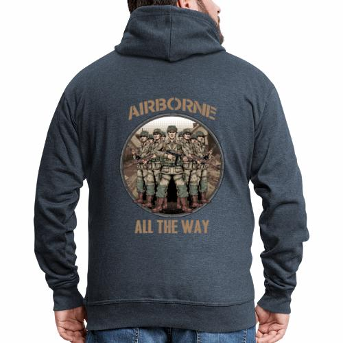 Airborne - Tout le chemin - Veste à capuche Premium Homme