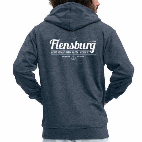 Flensburg - meine Heimat, mein Hafen, mein Kiez - Männer Premium Kapuzenjacke