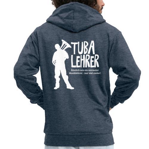 Tuba Lehrer | Tubist - Männer Premium Kapuzenjacke
