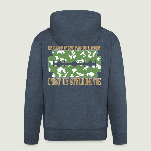 camolife3 - Veste à capuche Premium Homme