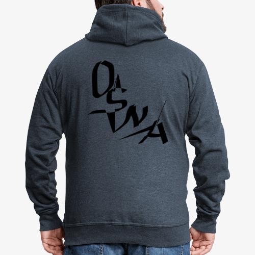 OSNA COMPANY - Rozpinana bluza męska z kapturem Premium