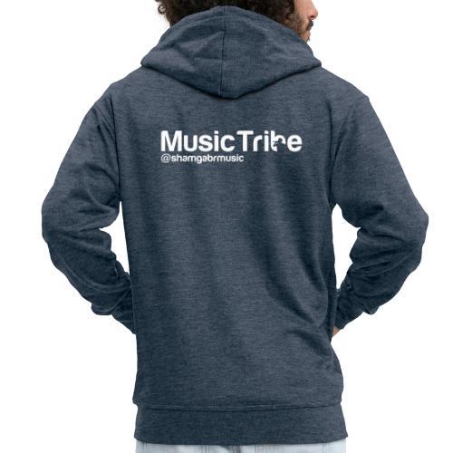 music tribe logo - Men's Premium Hooded Jacket