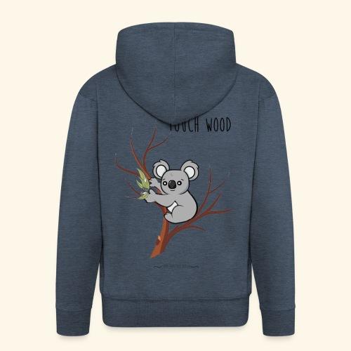 koala's tree - Veste à capuche Premium Homme