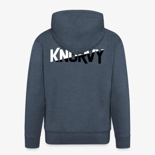 KNORVY - Mannenjack Premium met capuchon
