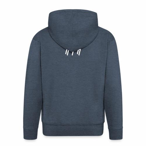 KTK White Design - Men's Premium Hooded Jacket