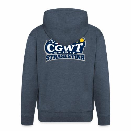 CGWT - Felpa con zip Premium da uomo
