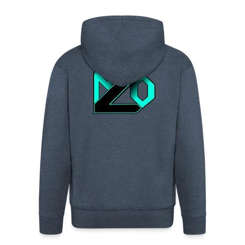 N2O turquoise - Veste à capuche Premium Homme