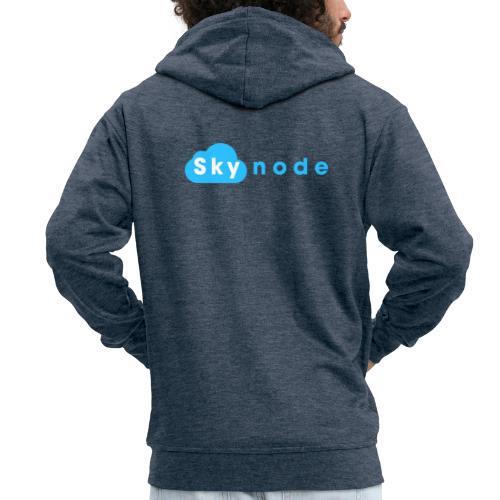 Skynode! - Men's Premium Hooded Jacket