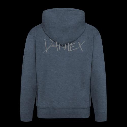 DAPHEX gray - Männer Premium Kapuzenjacke