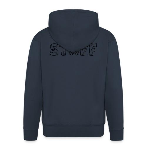 STAFF - Felpa con zip Premium da uomo