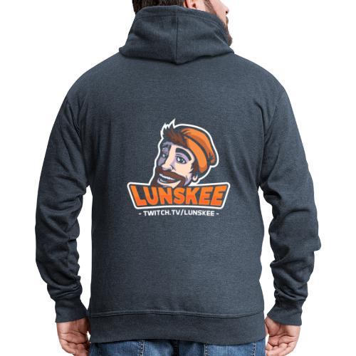 Lunskee Mascot Logo - Mannenjack Premium met capuchon