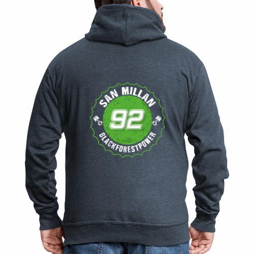 San Millan Blackforestpower 92 rund - Männer Premium Kapuzenjacke