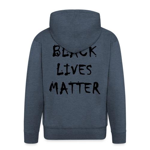 BLACK LIVES MATTER 20.1 - Männer Premium Kapuzenjacke