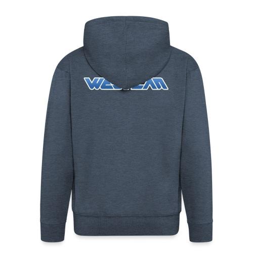 WestLAN Logo - Men's Premium Hooded Jacket
