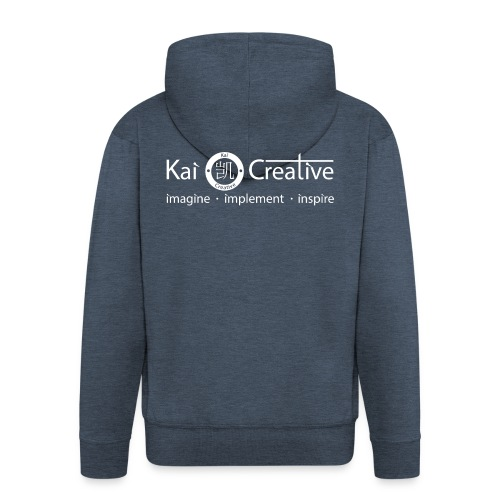 Classic Kai Creative Logo T-shirt - Men's Premium Hooded Jacket