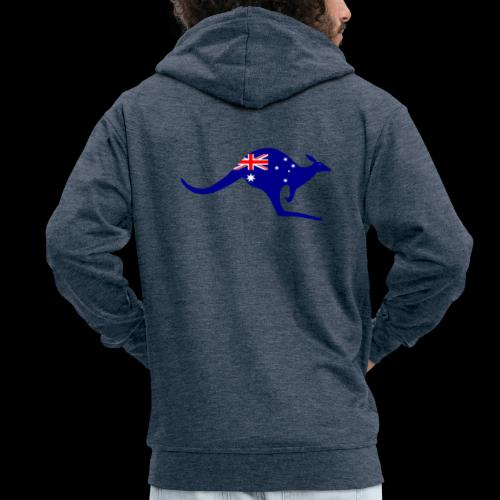 Australia - Männer Premium Kapuzenjacke