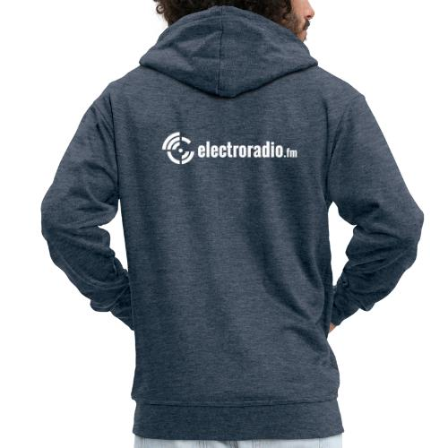 electroradio.fm - Men's Premium Hooded Jacket