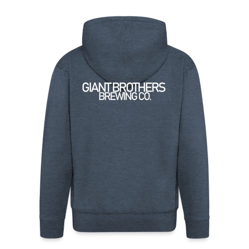 Giant Brothers Brewing co white - Premium-Luvjacka herr