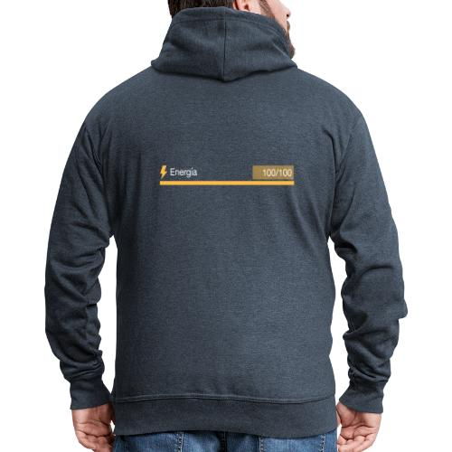 Energía 100% - Chaqueta con capucha premium hombre