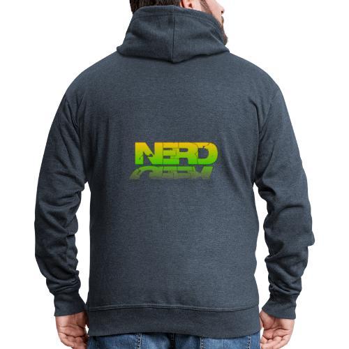 nerd geek - Veste à capuche Premium Homme
