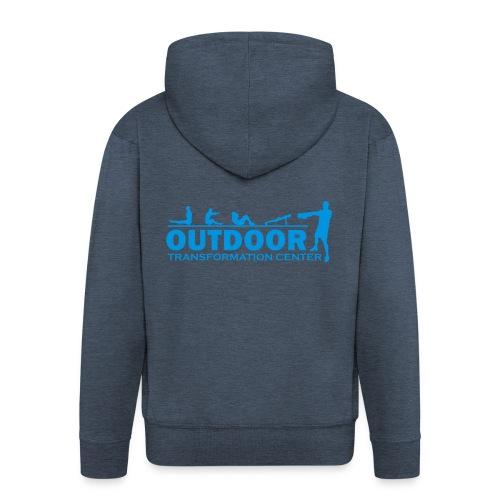 OTC Large Logo - Men's Premium Hooded Jacket