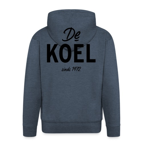 De Koel - Männer Premium Kapuzenjacke
