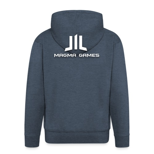 Magma Games t-shirt - Mannenjack Premium met capuchon