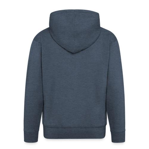 Tanned Black - Men's Premium Hooded Jacket