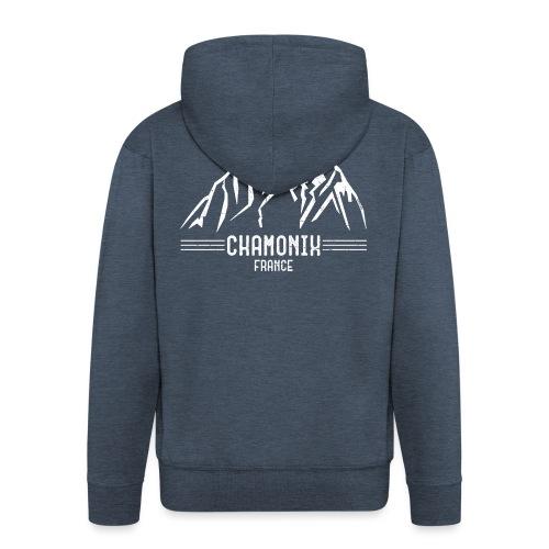 Chamonix France - Men's Premium Hooded Jacket