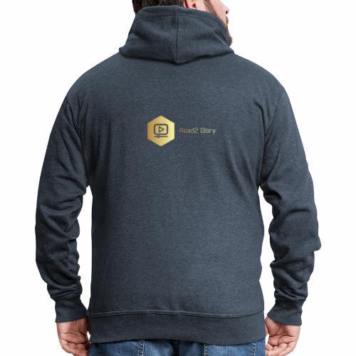 Golden Road2 Glory Badge - Men's Premium Hooded Jacket