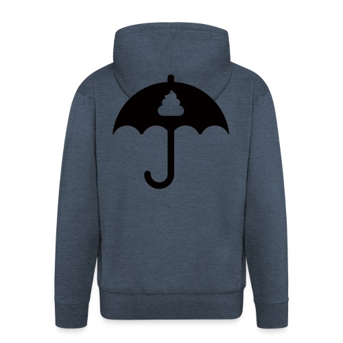 Shit icon Black png - Men's Premium Hooded Jacket