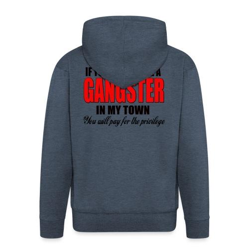 ville gangster - Veste à capuche Premium Homme