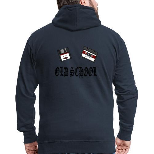 Old School Design - Männer Premium Kapuzenjacke