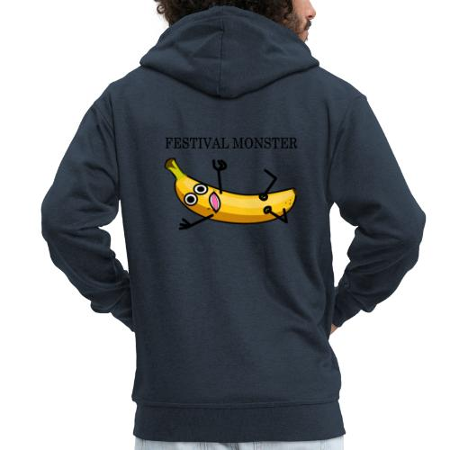 Festival Banane - Männer Premium Kapuzenjacke
