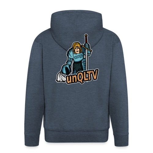 unQLTV Merchandise - Männer Premium Kapuzenjacke