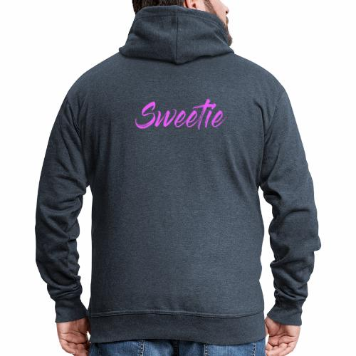 Sweetie - Men's Premium Hooded Jacket