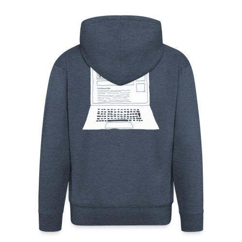 Laptop 20CENT Retail - Veste à capuche Premium Homme