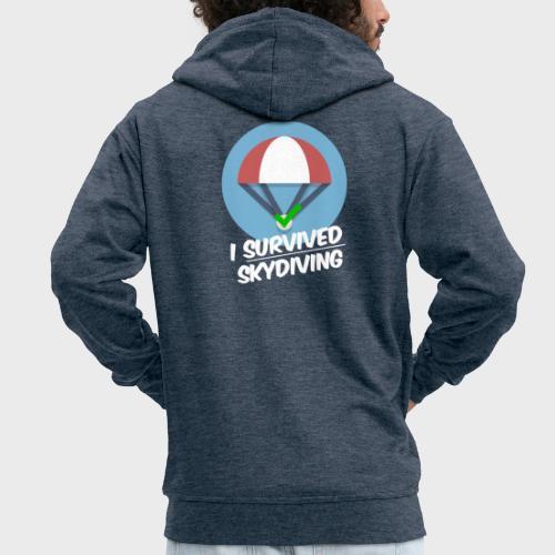 I survived Skydiving - Männer Premium Kapuzenjacke