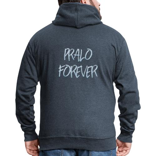 pralo forever bleu - Veste à capuche Premium Homme