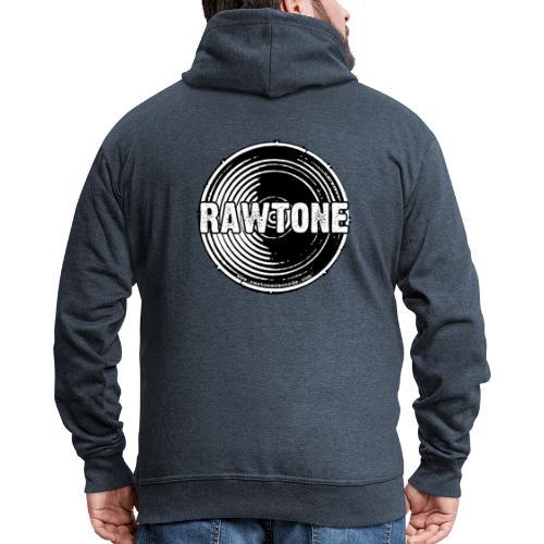 Rawtone Records logo - Men's Premium Hooded Jacket